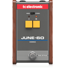 TC Electronics Legendary Stereo Chorus with 2-Button Effect Selector and BBD Circuitry