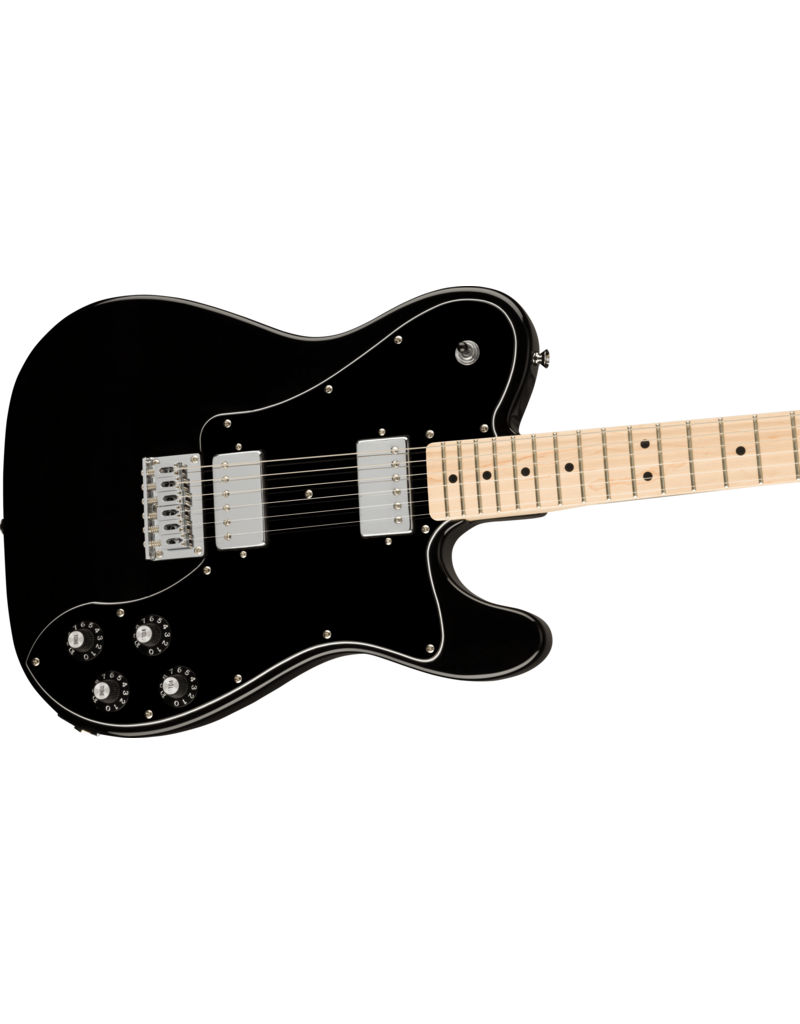 Squier Affinity Telecaster Deluxe, Maple Neck, All Black