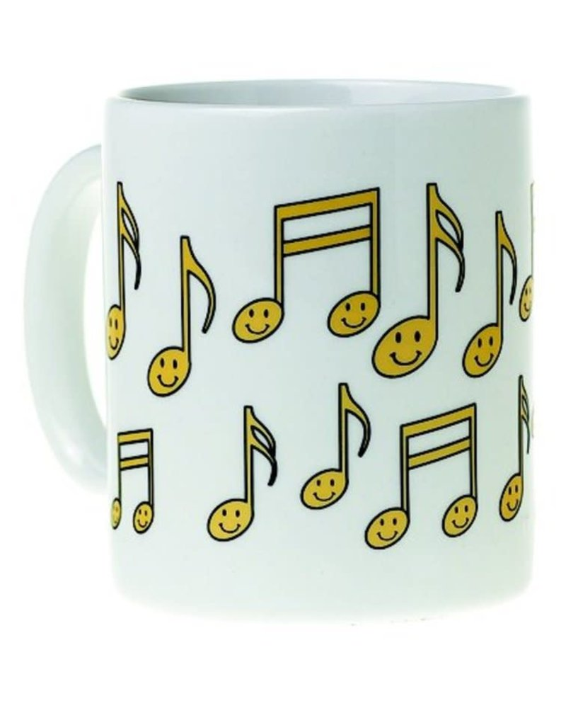 AIM MUG MUSIC DESIGN HAPPY NOTES