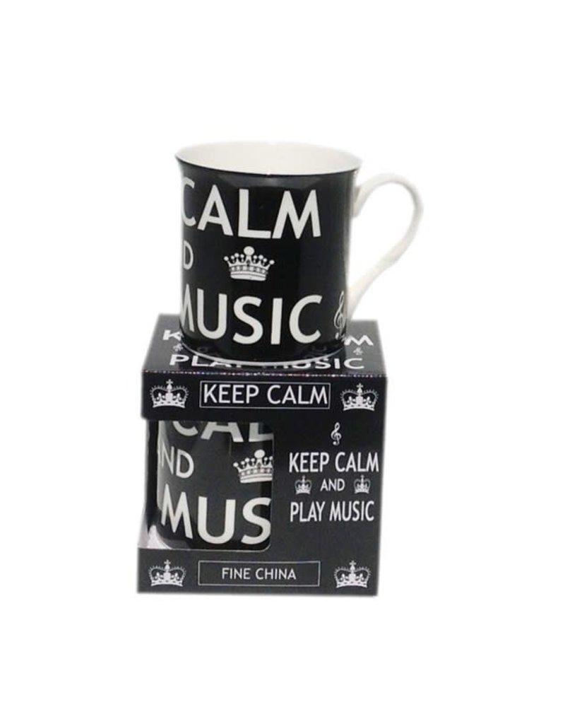 MUG KEEP CALM AND PLAY MUSIC