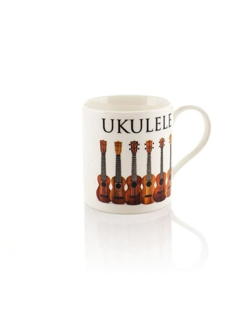 Little Snoring Ltd. MUG UKULELE MUSIC WORD