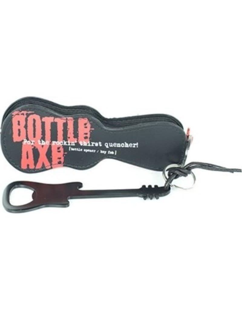 BOTTLE AXE: BOTTLE OPENER/KEY FOB BLK