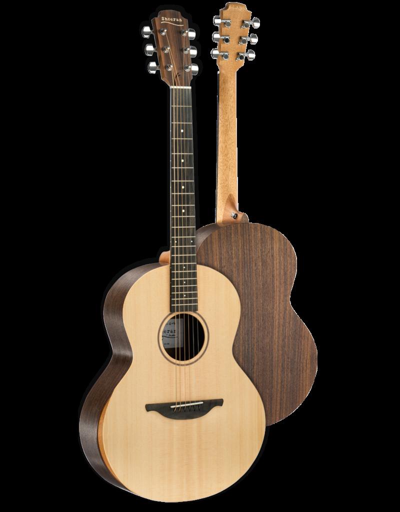 Lowden S-02 Sheeran Sitka Spruce - Indian Rosewood - Ebony - Gig Bag