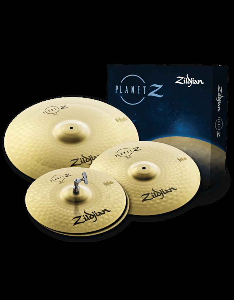"""Zildjian Zildjian Planet Z Pro Pack* 14"""" Hi Hat, 16"""" Crash , 20"""" Ride"""