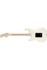 Squier Affinity Series Stratocaster HH, Laurel Fingerboard, Black Pickguard, Olympic White