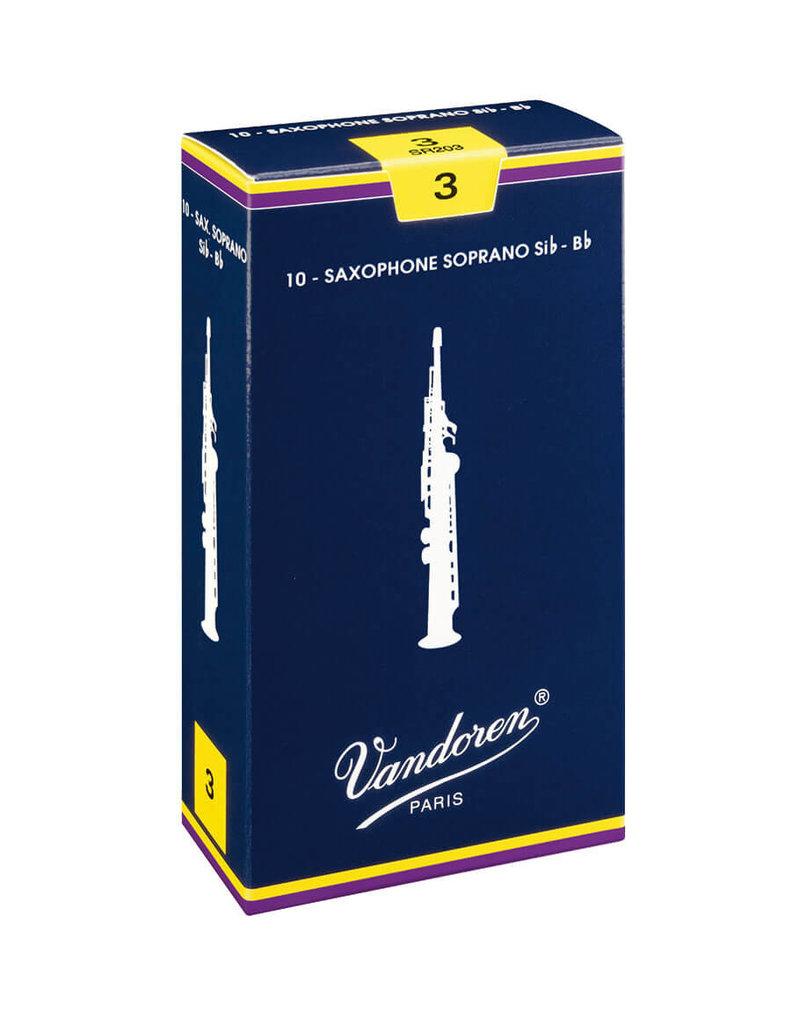 Vandoren Soprano Sax Reeds 3 (10 Pack)