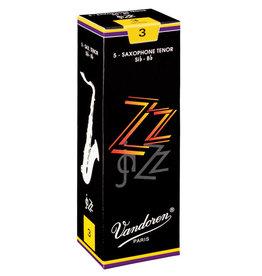 Vandoren Tenor Sax Reeds jaZZ  3 (5 Pack)