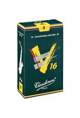 Vandoren V16 Alto Sax Reeds 1.5  (10 Pack)
