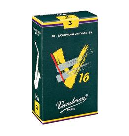Vandoren V16 Alto Sax Reeds 3  (10 Pack)