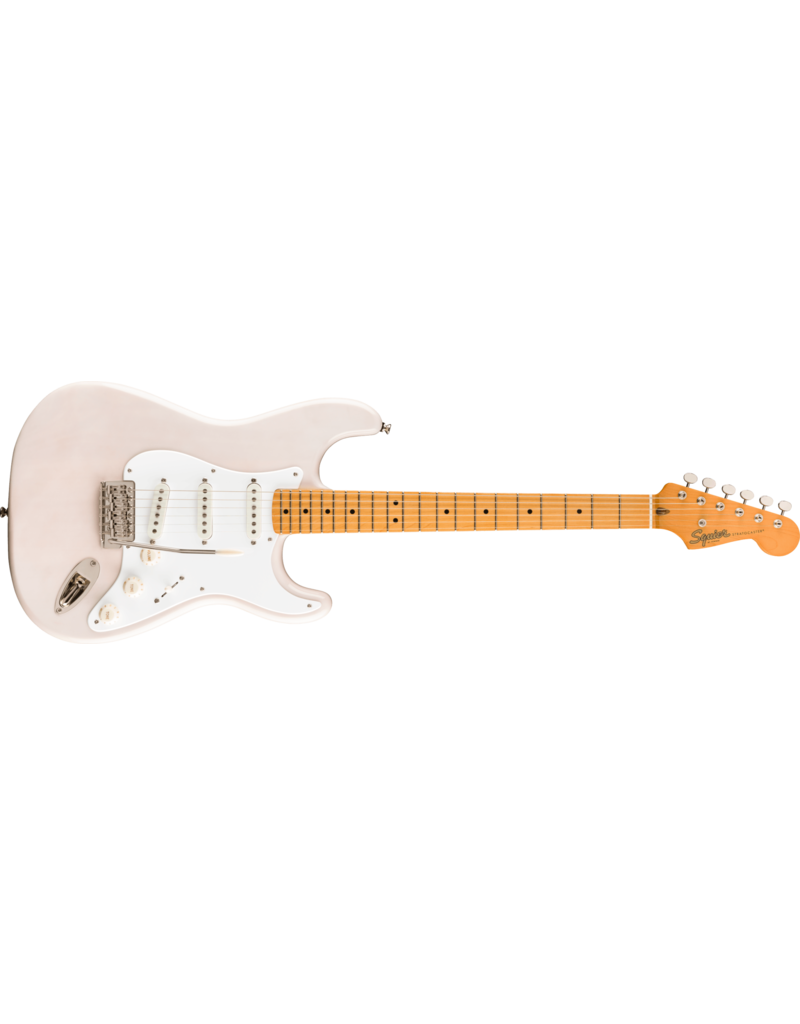 Squier Classic Vibe '50s Stratocaster, Maple Fingerboard, White Blonde