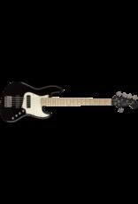 Squier Contemporary Active Jazz Bass V HH, Maple Fingerboard, Black