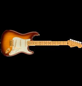 Fender 75th Anniversary Commemorative Stratocaster , Maple Fingerboard, 2-Color Bourbon Burst
