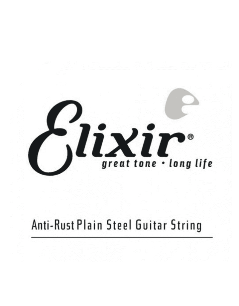 Elixir 010 Single Anti-rust Plain Steel String Elixir 13010
