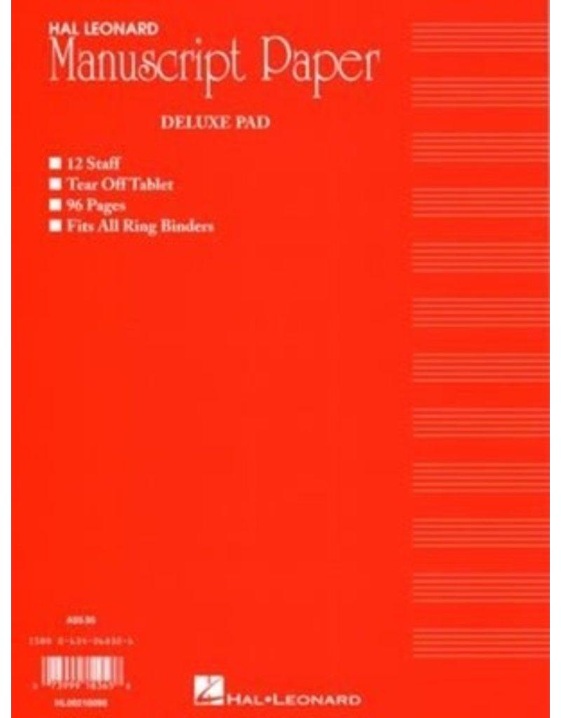 Hal Leonard Deluxe Manuscript pad 96pg