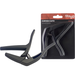 """Stagg Stagg Curved """"trigger"""" capo for acoustic/electric guitar"""