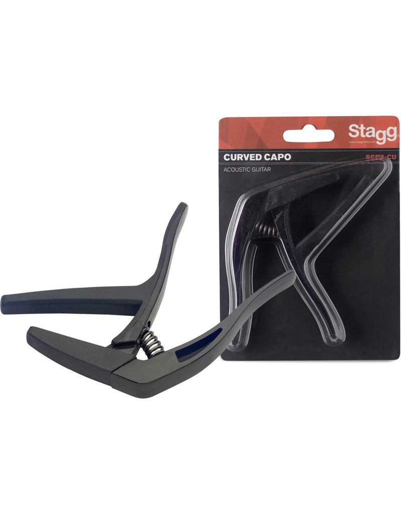 Stagg Curved Trigger Capo Acoustic/Electric