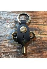 Tackle Timekeepers Drum Key / Antique Brass
