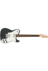 Squier Affinity Series Telecaster Deluxe, Laurel Fingerboard, White Pickguard, Charcoal Frost Metallic