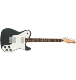 Squier Affinity Series Telecaster Deluxe, Charcoal Frost Metallic
