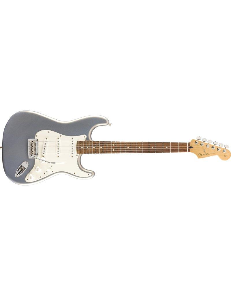 Fender Player Stratocaster, Pau Ferro Fingerboard, Silver