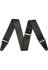 """Fender 2"""" Tooled Leather Strap, Black"""