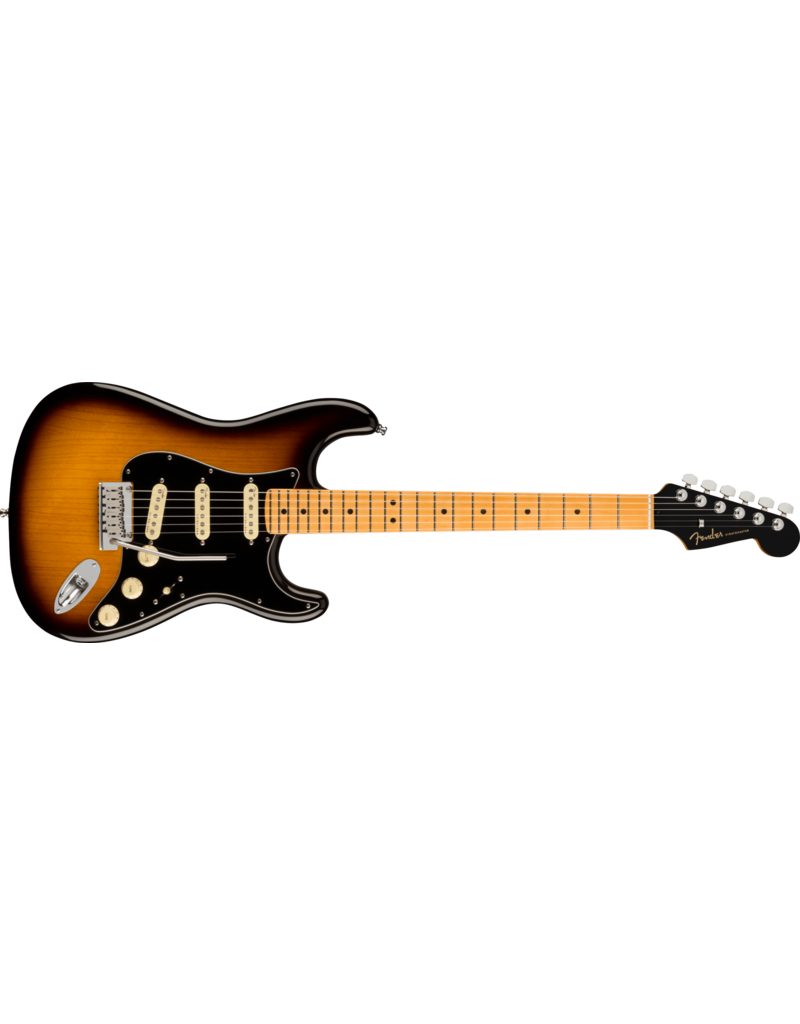 Fender American Ultra Luxe Stratocaster, Maple Fingerboard, 2-Colour Sunburst