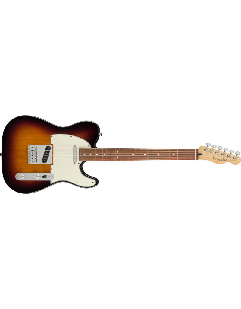 Fender Player Telecaster, Pau Ferro Fingerboard, 3-Colour Sunburst
