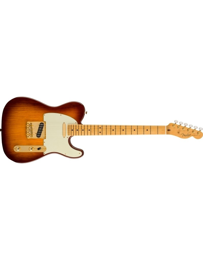 Fender 75th Anniversary Commemorative Telecaster , Maple Fingerboard, 2-Colour Bourbon Burst