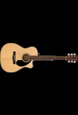 Fender CC-60SCE Concert, Walnut Fingerboard, Natural