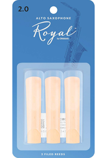 Rico Rico Alto Sax Reeds (3 pack) 2.0 Royal(Blue)