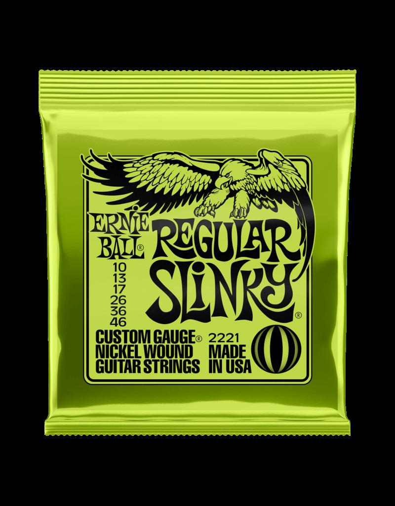 Ernie Ball 10-46 Regular Slinky Lime