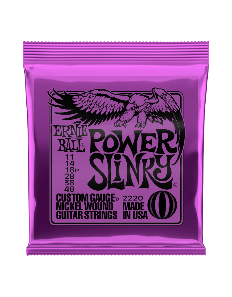 Ernie Ball 11-48 Power Slinky Purple