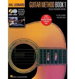 Hal Leonard HL Guitar Method BK 1 NEW CD/DVD/Chord Chart
