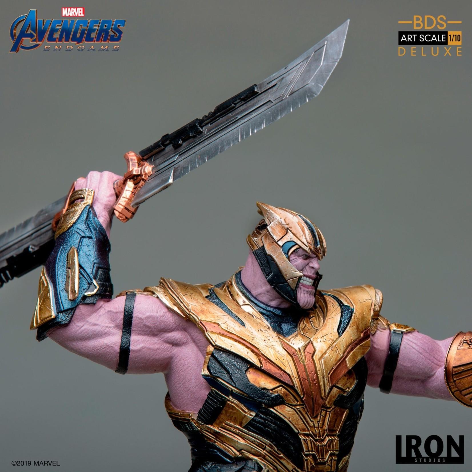 Iron Studios Endgame Thanos statue (DX ver)