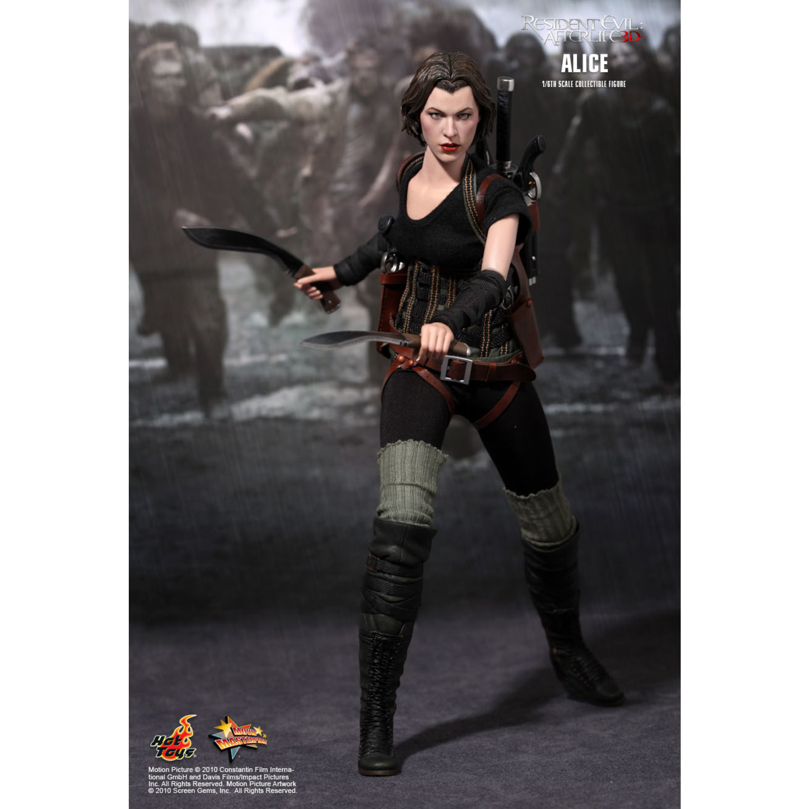 Hot Toys Resident Evil Afterlife - Alice MMS139