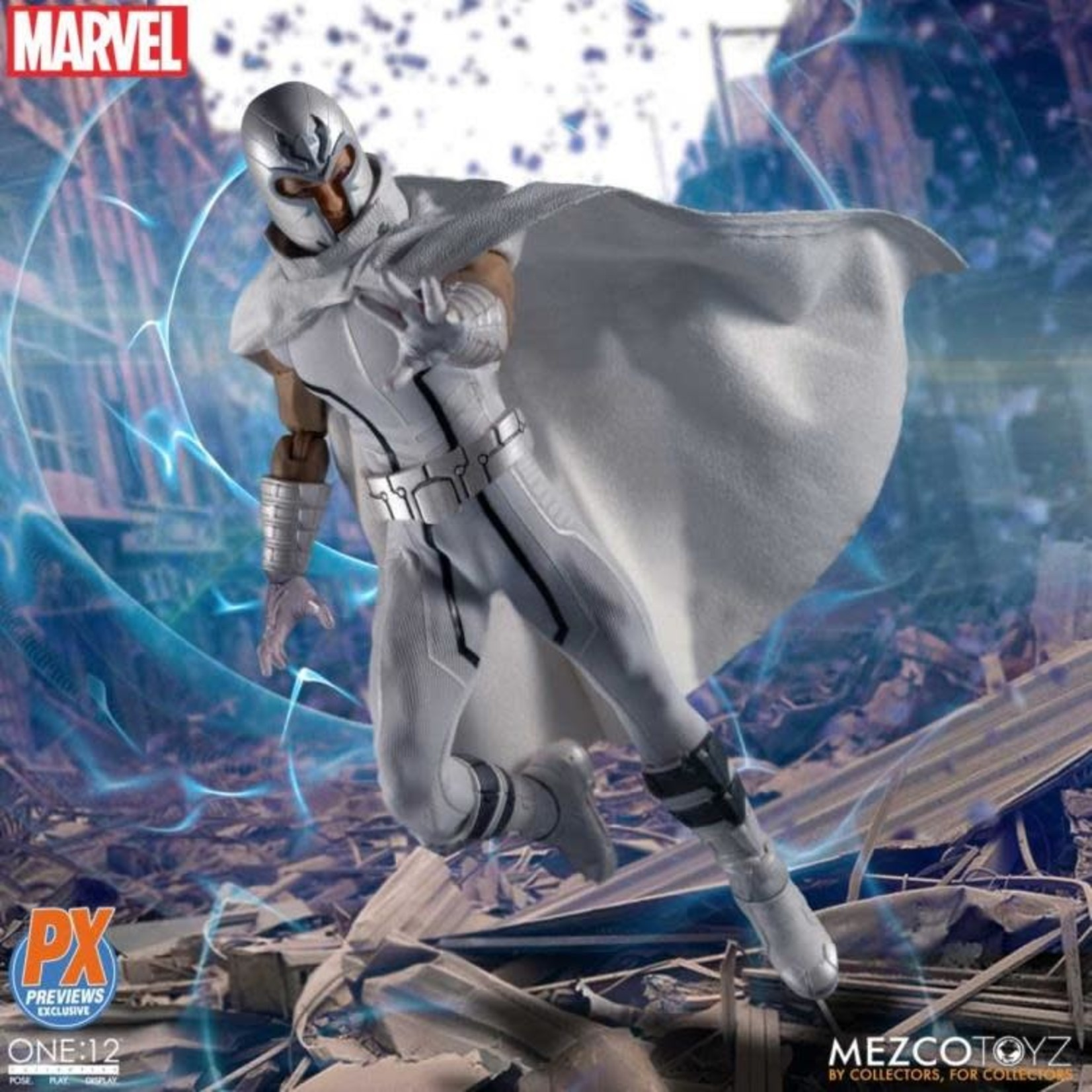 MezcoToyz X-Men Magneto Marvel NOW! Edition One:12 Figure - PX