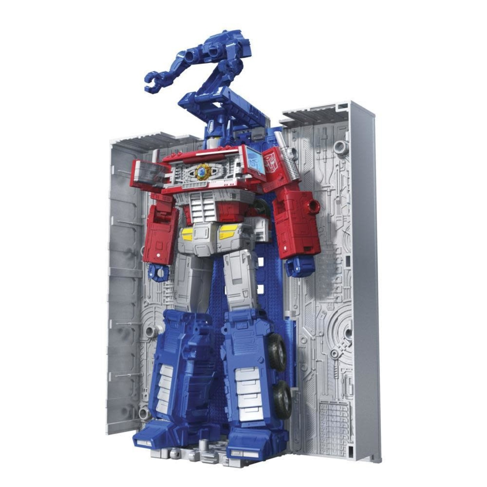 Hasbro Transformers Toys Generations War for Cybertron: Kingdom Leader WFC-K11 Optimus Prime