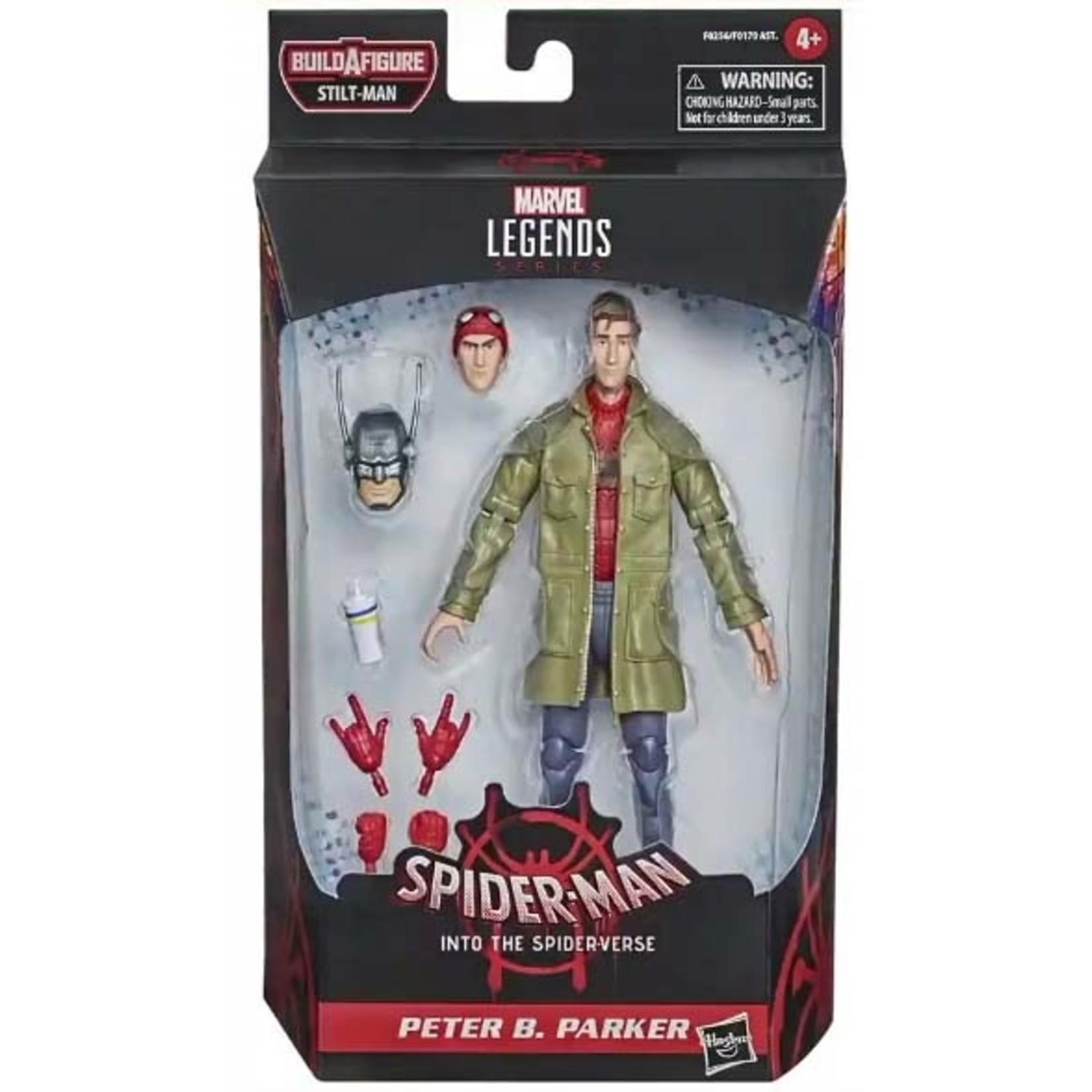 Hasbro Spider-Man: Into the Spider-Verse Marvel Legends Peter B. Parker (Stilt-Man BAF)