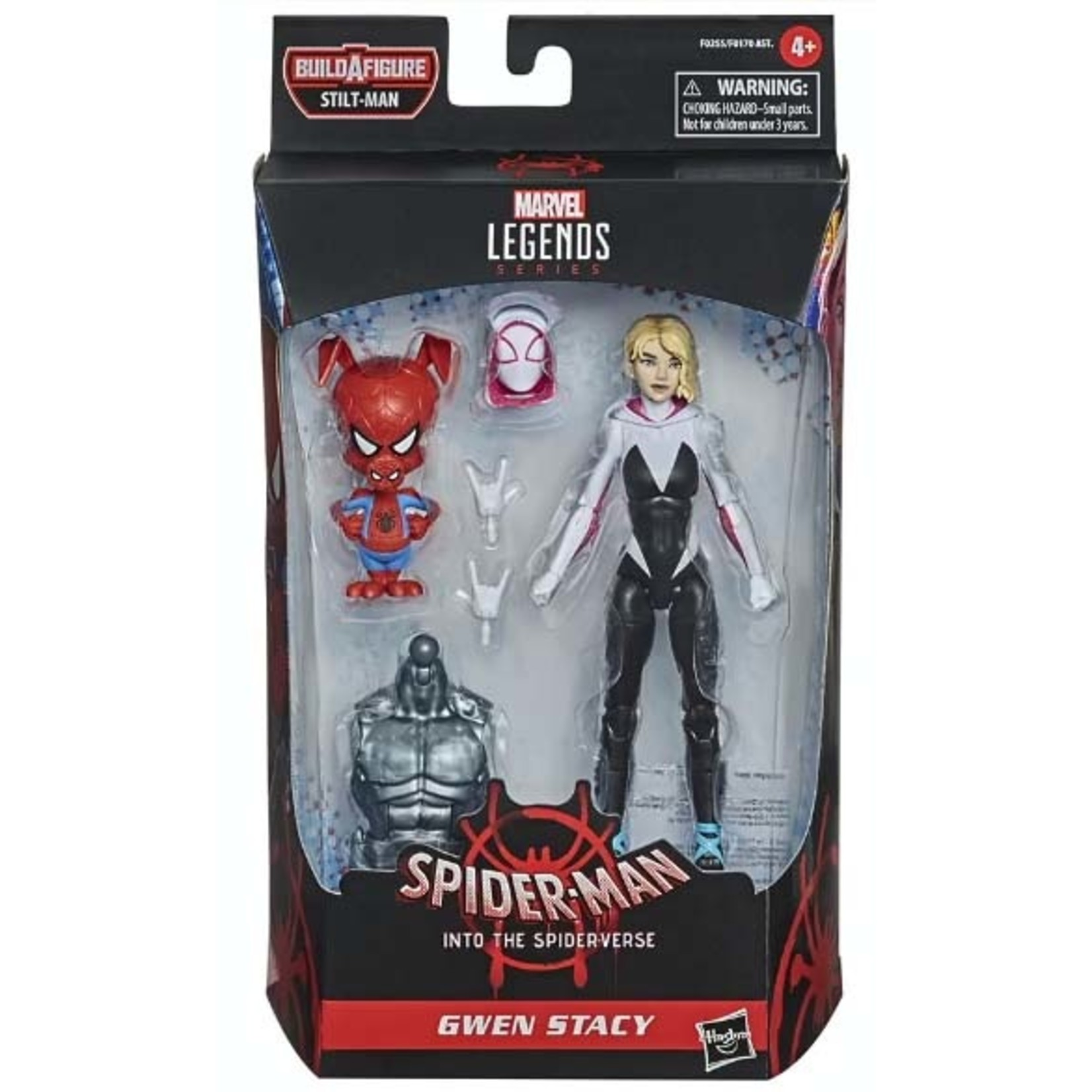 Hasbro Spider-Man: Into the Spider-Verse Marvel Legends Gwen Stacy (Stilt-Man BAF)