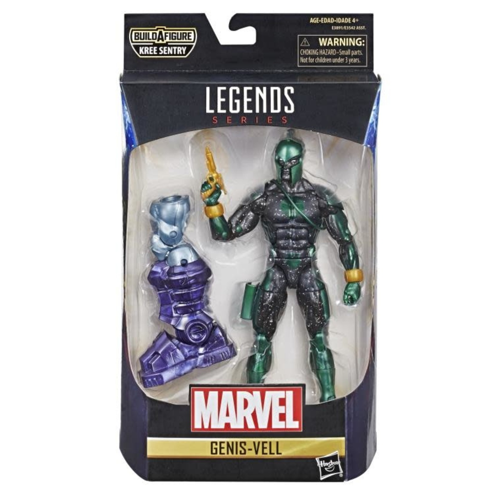 Hasbro Marvel Legends Captain Marvel Kree Sentry BAF - Genis-Vell