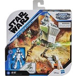 Hasbro Star Wars Mission Fleet Expedition Class - Captain Rex et AT-RT