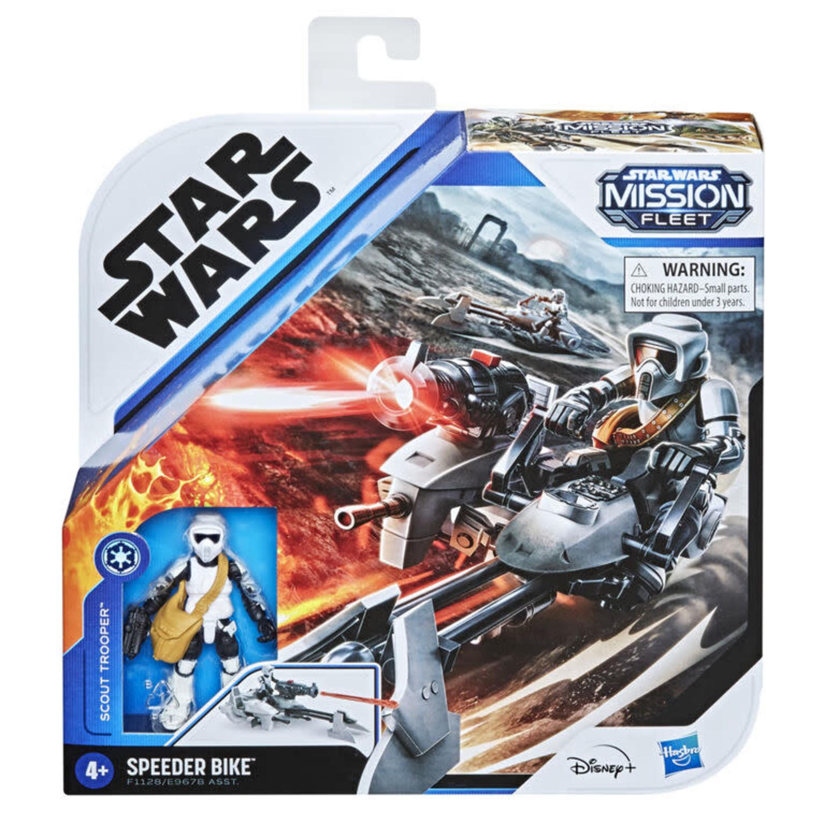 Hasbro Copy of Star Wars Mission Fleet Expedition Class - The Mandalorian et Speedder bike
