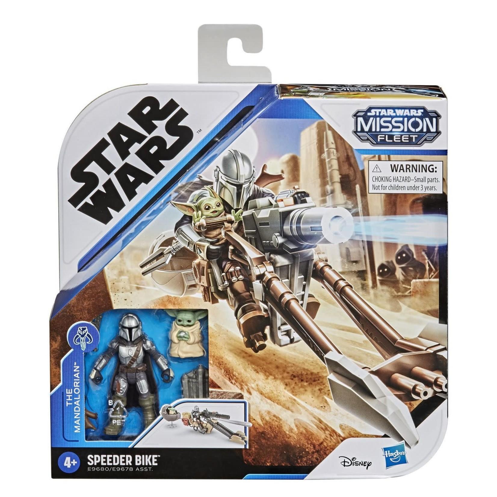 Hasbro Star Wars Mission Fleet Expedition Class - The Mandalorian et Speedder bike