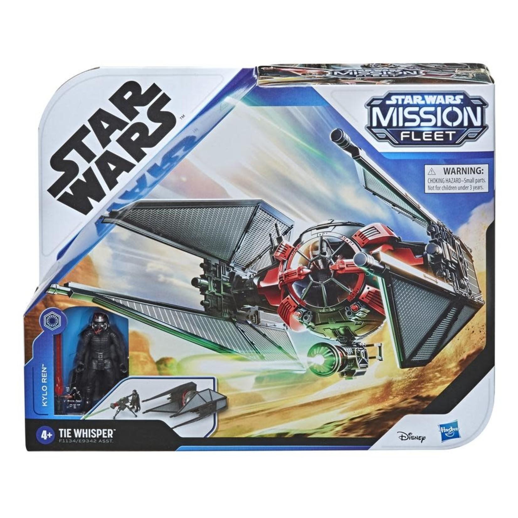 Hasbro Star Wars Mission Fleet Stellar Class Kylo Ren TIE Whisper