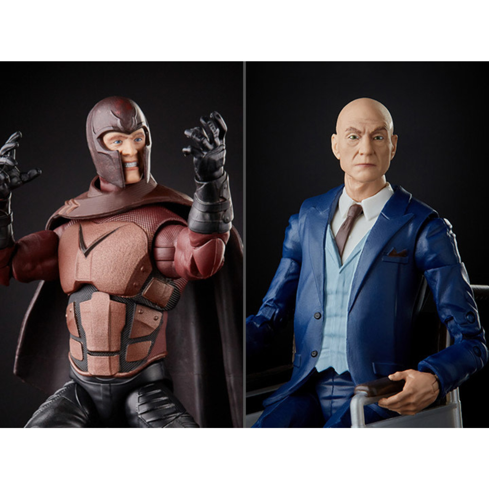 Hasbro X-Men 20th Anniversary Marvel Legends Magneto & Professeur Xavier