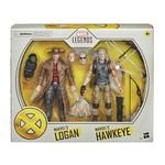 Hasbro X-Men 20th Anniversary Marvel Legends Old Man Logan & Hawkeye