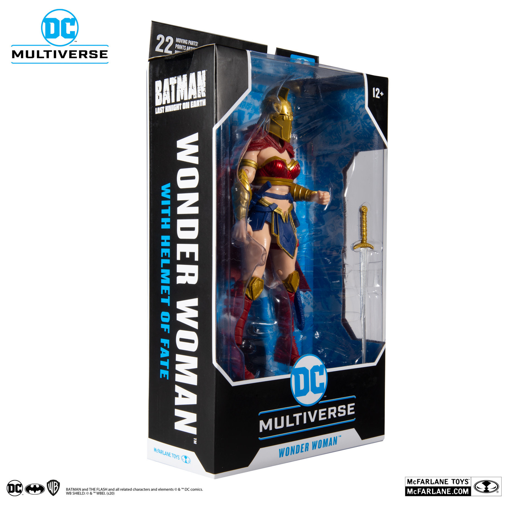 McFarlane Toys DC MULTIVERSE  WONDER WOMAN HELMET of fATE