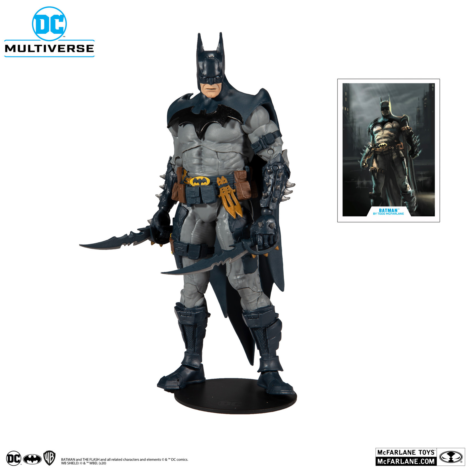 McFarlane Toys DC MULTIVERSE BATMAN DESIGNED BY TODD MCFARLANE