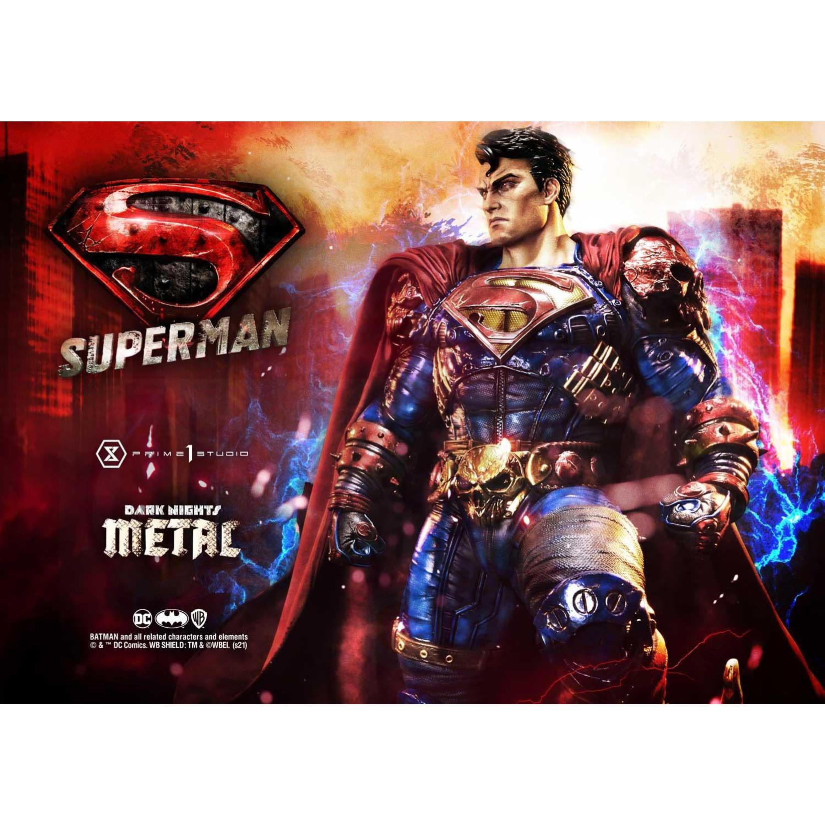 Prime 1 Studio [PREORDER] MMDCMT-08: SUPERMAN (DARK NIGHTS: METAL COMICS)