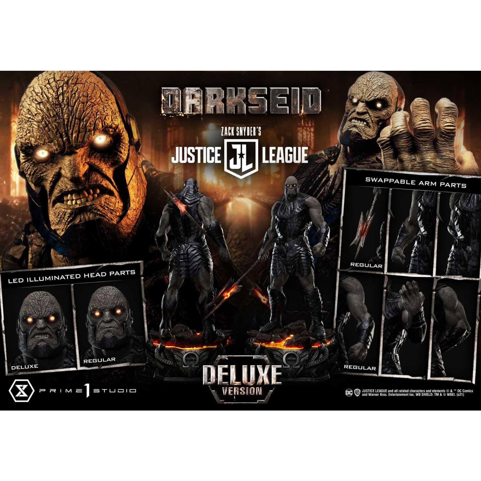 Prime 1 Studio [PRECOMMANDE] MMJL-08DX: DARKSEID DELUXE BONUS VERSION (ZACK SNYDER'S JUSTICE LEAGUE)